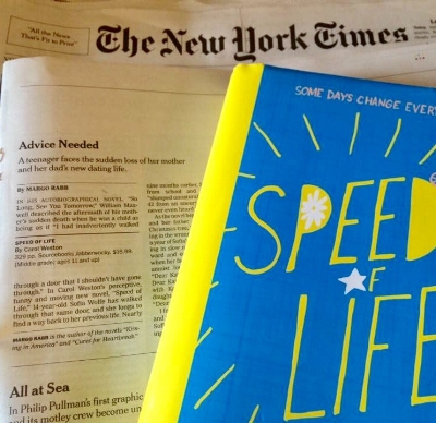"""June 18 2017 New York Times Book Review """"perceptive, funny and moving"""""""