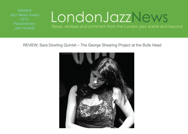 London Jazz News - S. Scotney