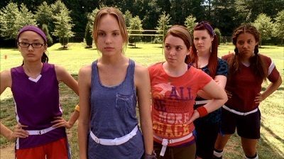 Publicity Still of Mean Girls 2 with BNB Talent Juliet Kim as Ling.
