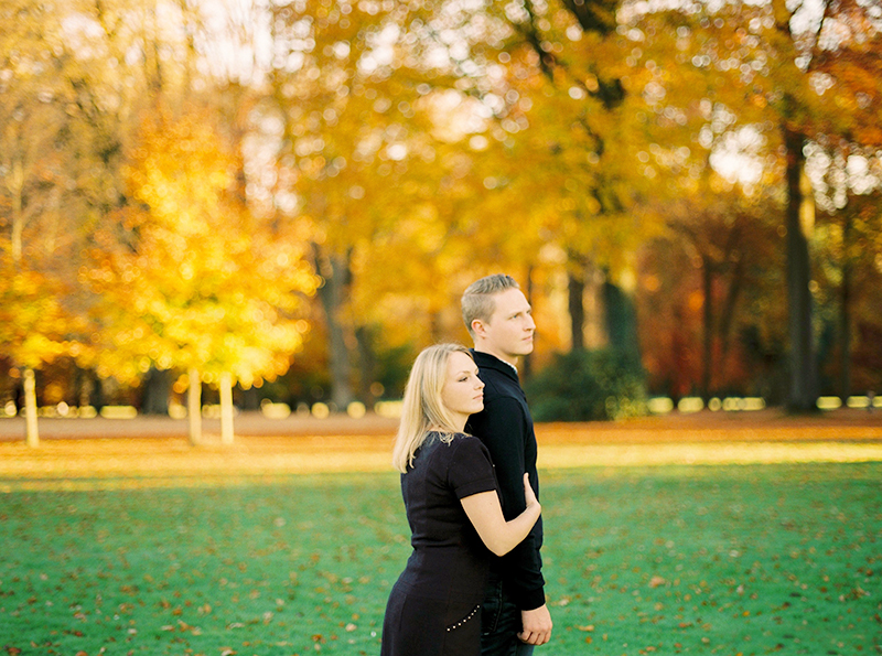 Autumnal Loveshoot at La Hulpe, Belgium / Shooting de couple à la Hulpe, Belgique