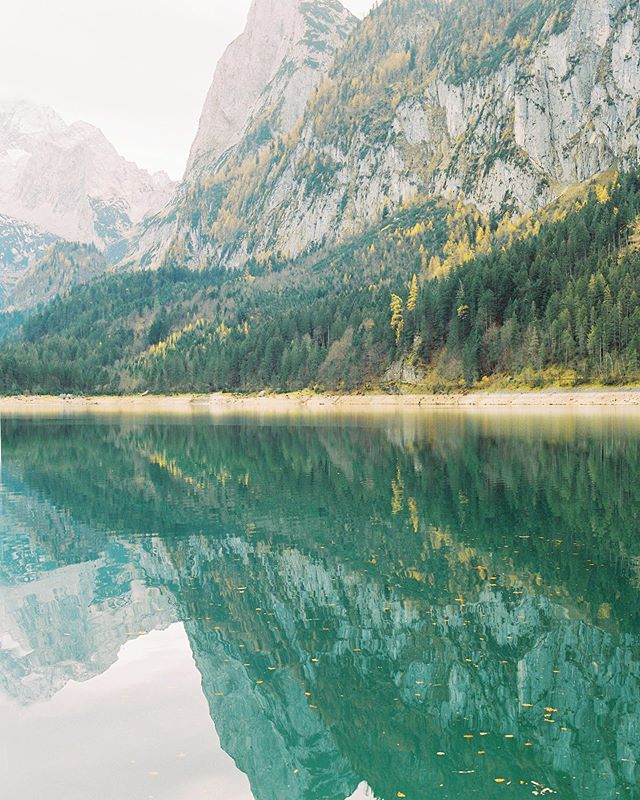 Emerald mountain lakes always fascinate me. I made this photograph last November in Austria. Do you like it?