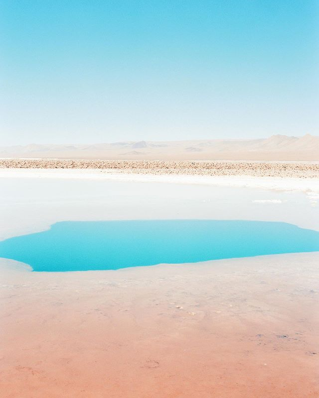 The Atacama desert unraveled its secrets to us. These hidden lagoons are just as salty as the Dead Sea (if not more!). You can not only make wonderful photographs of them but also go for a swim or more exactly a 'float' in some. Isn't it cool? Swipe to see me floating in one of them 😀 - spotted by my husband ❤️ ⠀⠀⠀⠀⠀⠀⠀⠀⠀ ⠀⠀⠀⠀⠀⠀⠀⠀⠀ ⠀⠀⠀⠀⠀⠀⠀⠀⠀ #ishootfilm #filmisnotdead #believeinfilm #shootfilmmag #staybrokeshootfilm #theatacamadesert #filmgrain #theanalogclub #lugaresbonitosdechile #filmphotographic #analoguepeople #shootfilmonmondays #welivetoexplore #filmphotography #tourtheplanet #analoglove #carmencitafilmlab #ishootfujifilm #mamiya645 #letsgosomewhere #getoutstayout #passionpassport #folktravel #exploretocreate #wanderfolk #theoutbound #ontheroad #lifeofadventure #stayandwander #chiletravel