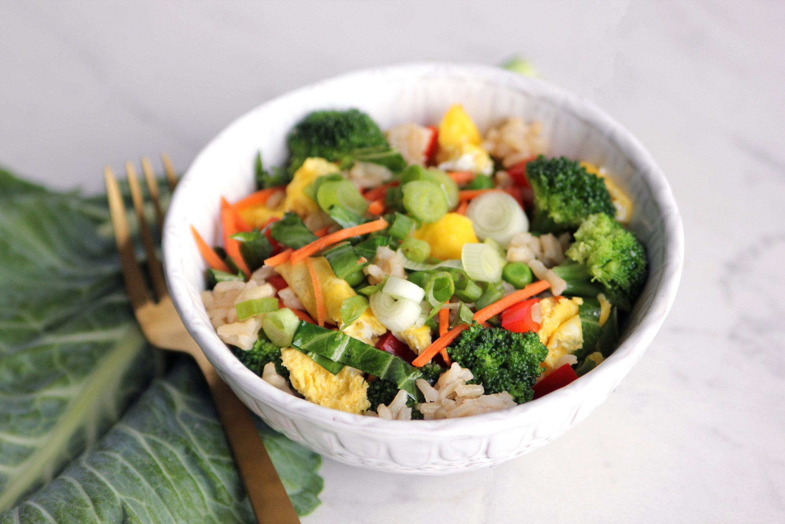 Very Veggie Unfried Rice