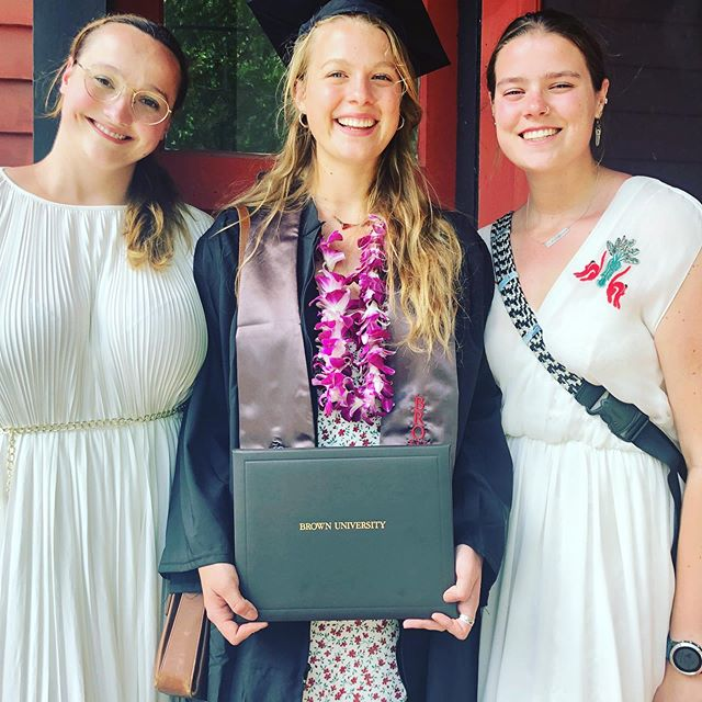 The three muses. Middle child is off into the world!
