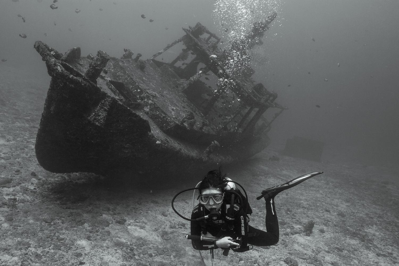 The wreck at Jepun