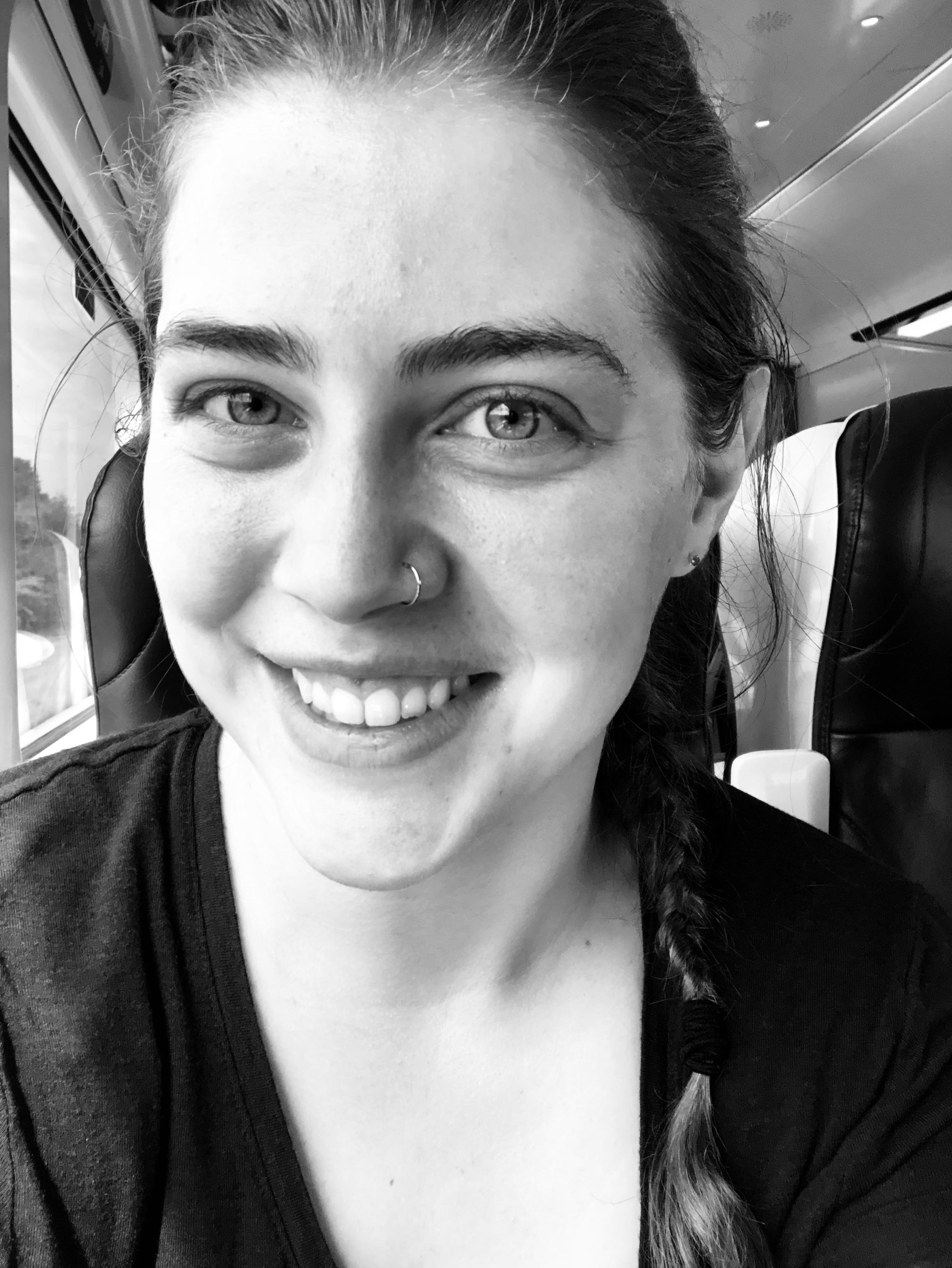 Train selfie!