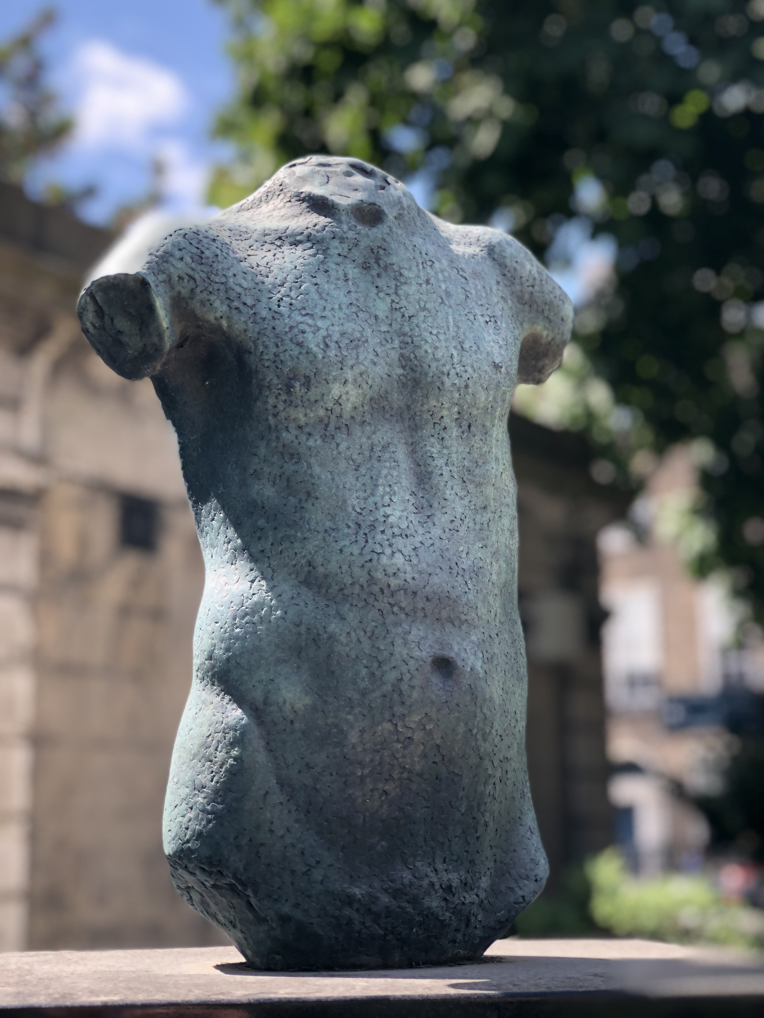 Statue in Merrion Square