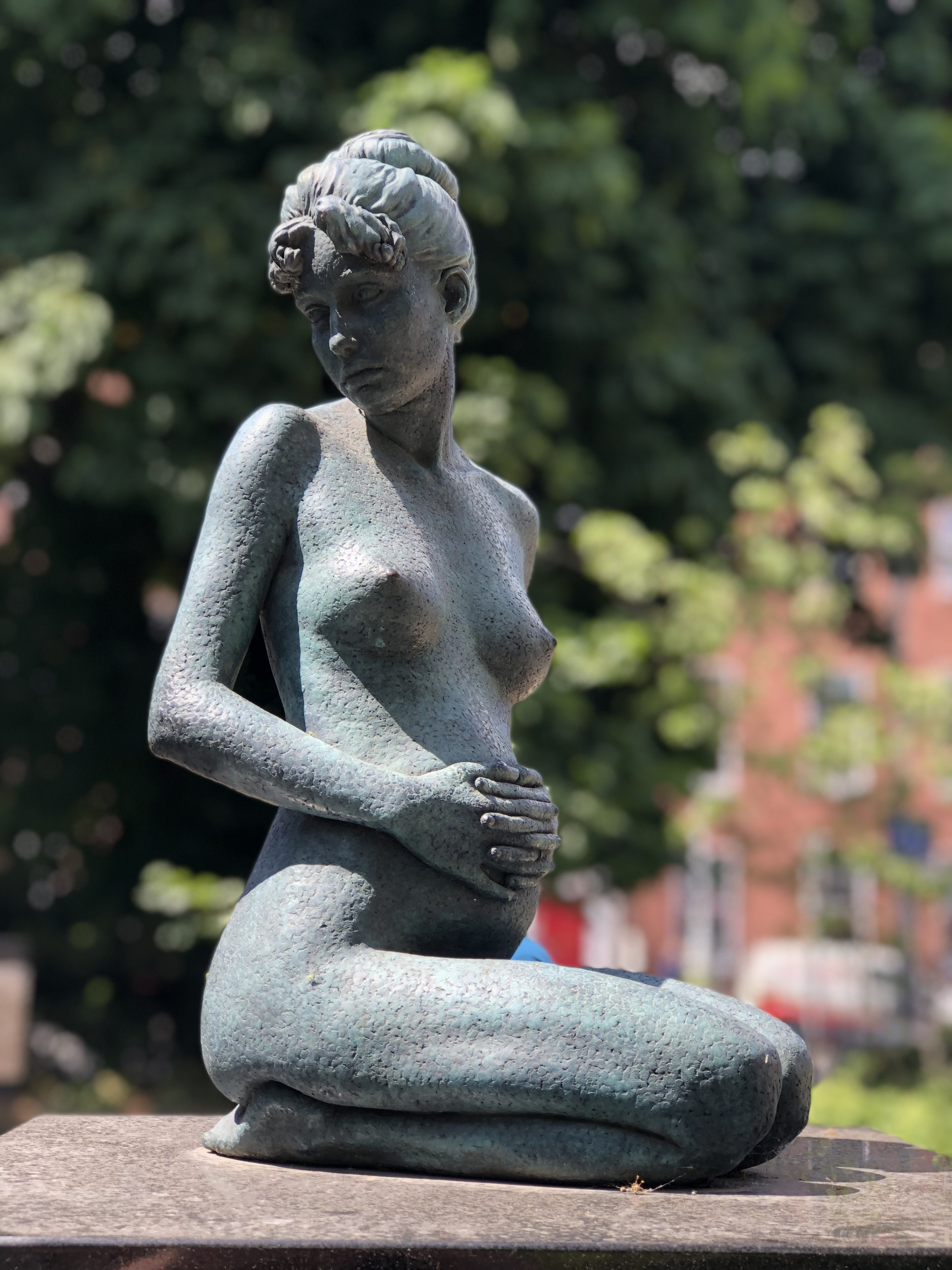 Another statue in Merrion Square