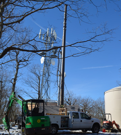 In 2018 T-Mobile joined AT&T, Verizon and Sprint in offering cell service on Wintergreen mountain when this tower just off Devil's Knob Loop goes into service.