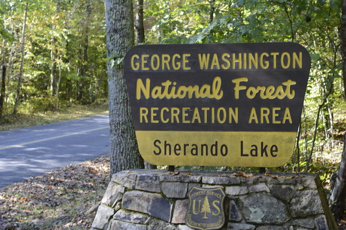 "Sherando Lake,  just a few minutes from the Wintergreen gatehouse, is a ""recreation area"" managed by the US Forest Service, which is part of USDA. It's not a national park."