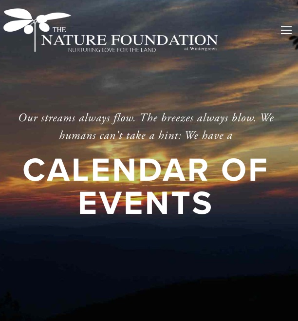 Nature Foundation at Wintergreen