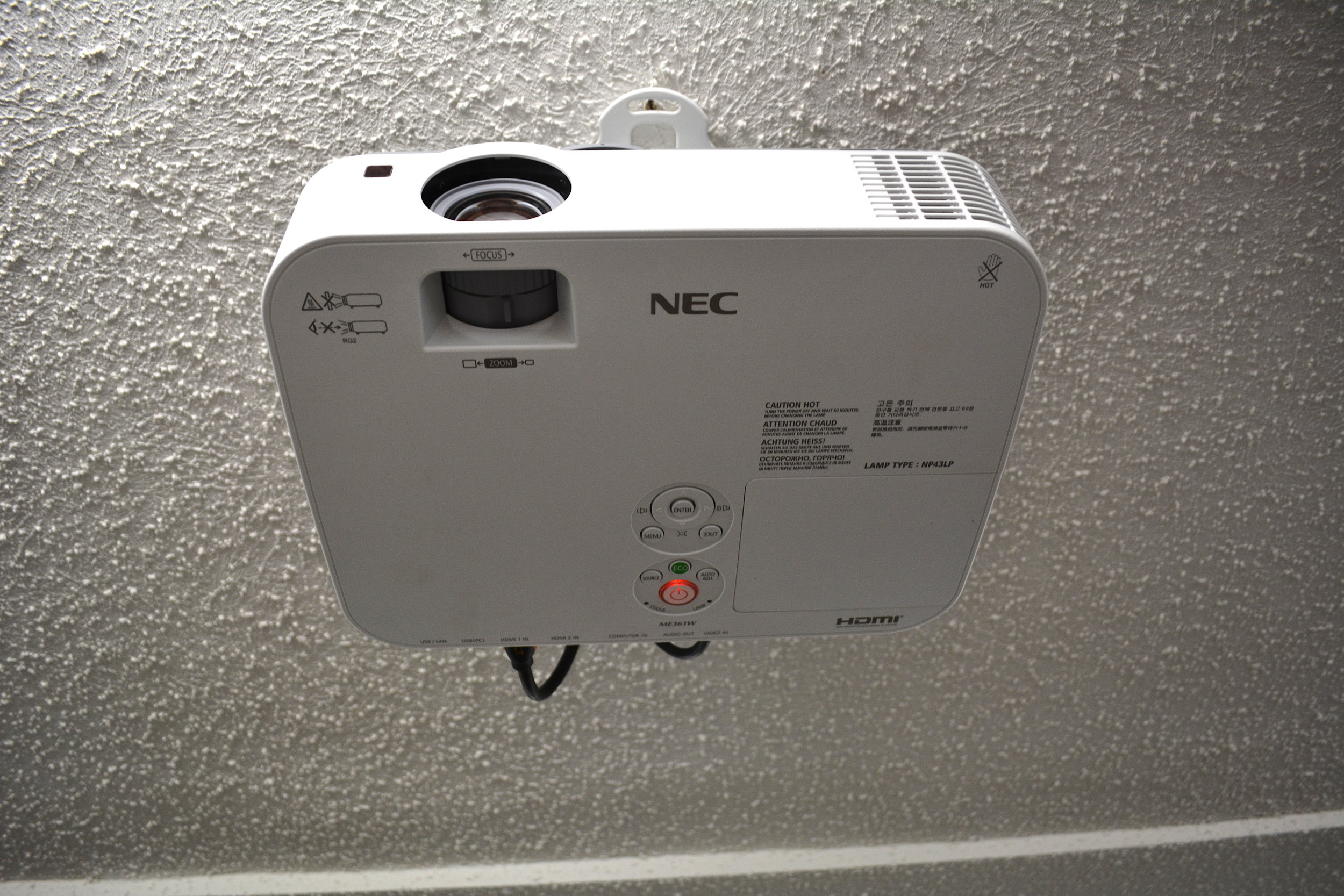 tuckahoe clubhouse projector on ceiling 2019.JPG