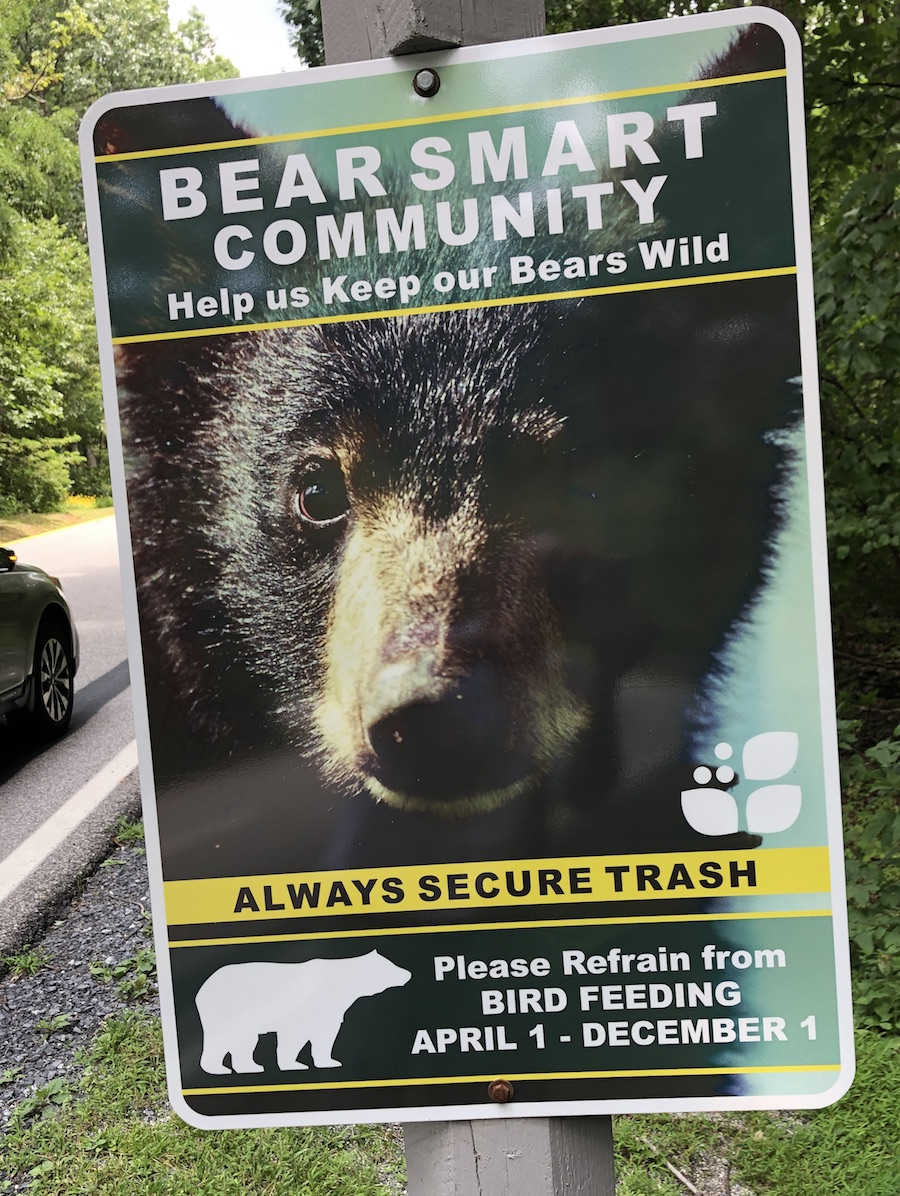 If a bear is threatening, persistent, or aggressive call Wintergreen police at 434-325-8520. For emergencies call 911.