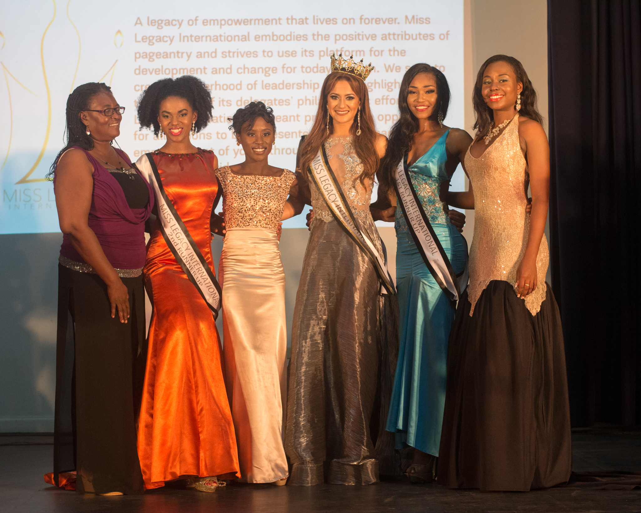 Contestants with our Resident Chef, Verona Brown & Chief of Party, Roushelle Reign
