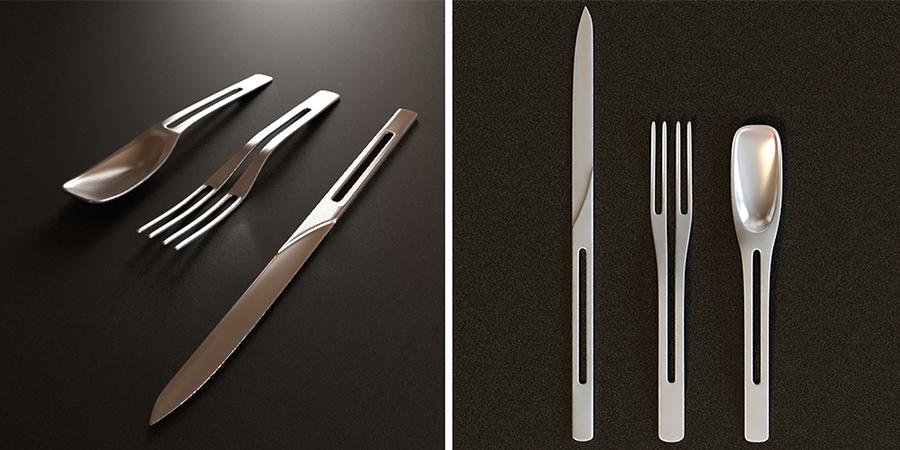 Cutlery  | Plus Designs International, NY / Singapore
