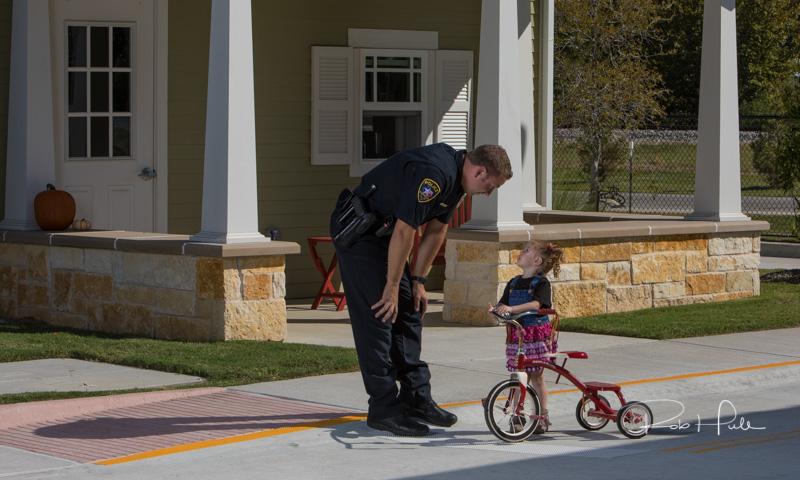 Policeman & Child