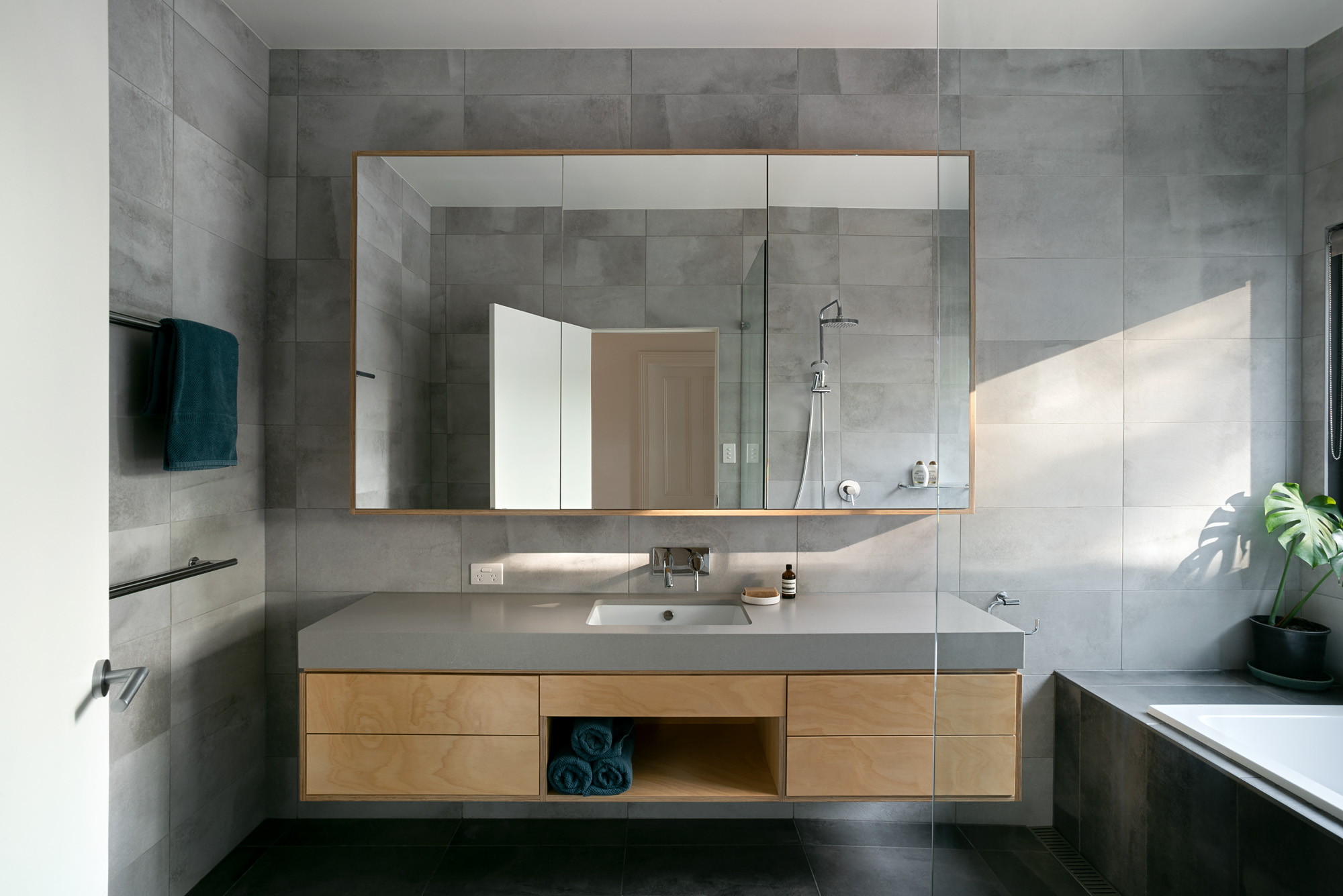 green sheep collective sustainable architect melbourne modern bathroom passive solar architecture.jpg