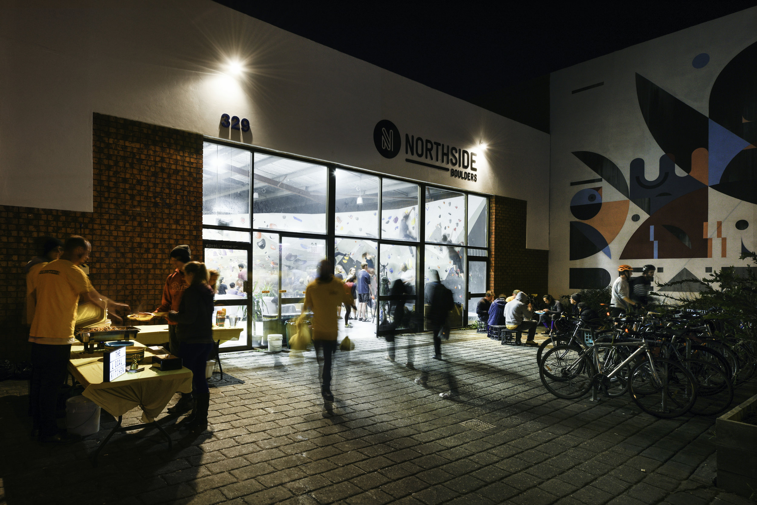 green sheep collective sustainable architect melbourne commercial green bouldering gym brunswick