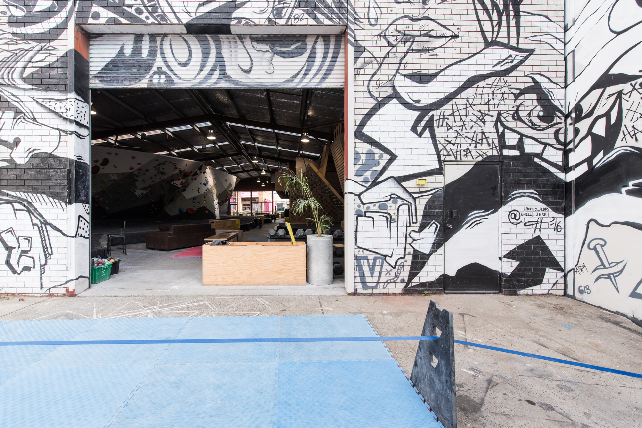 green sheep collective commercial sustainable architect melbourne bouldering gym environmentally friendly