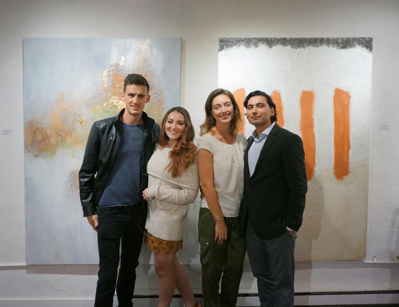 Christine & Joel Olmstead + Adrian Vega & Marta Staudinger