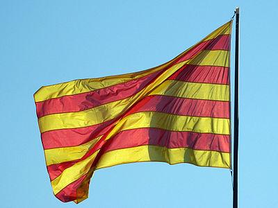 The Catalan flag or the   Senyera