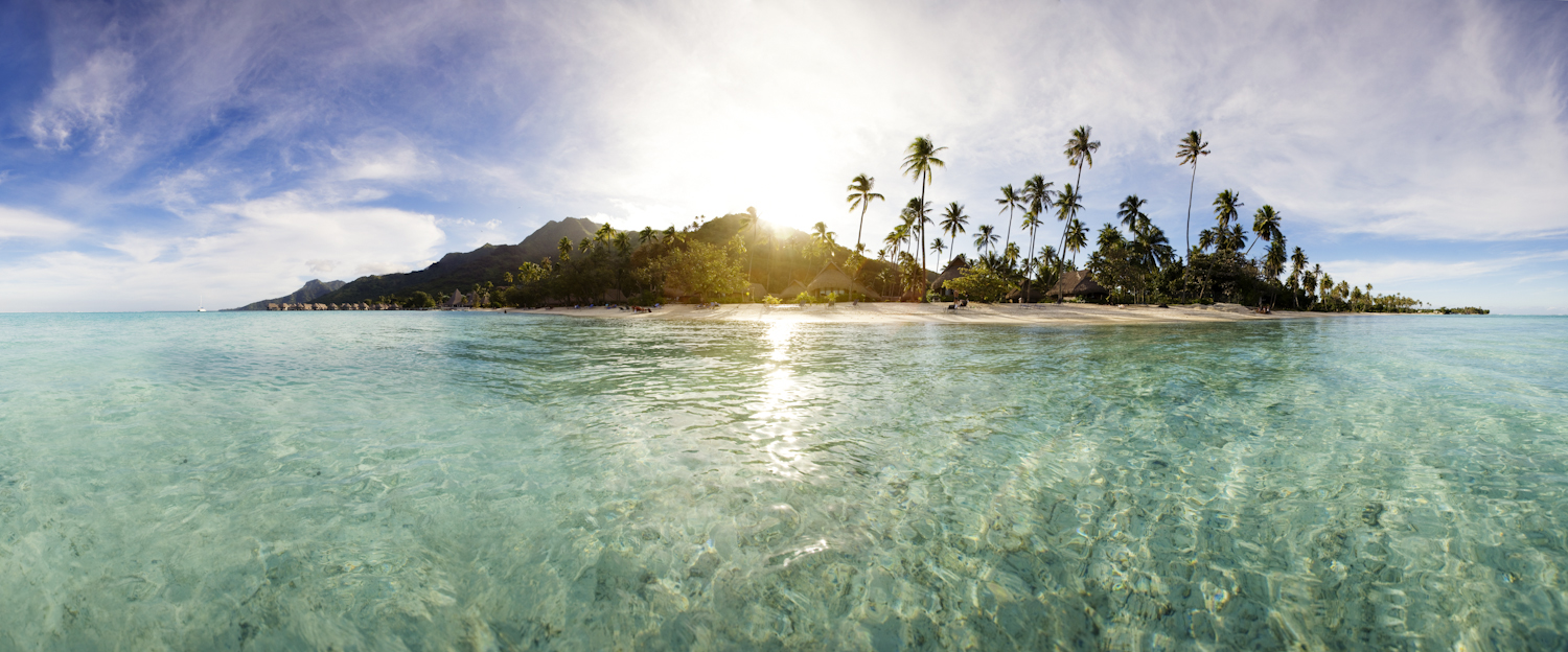 Moorea view from water