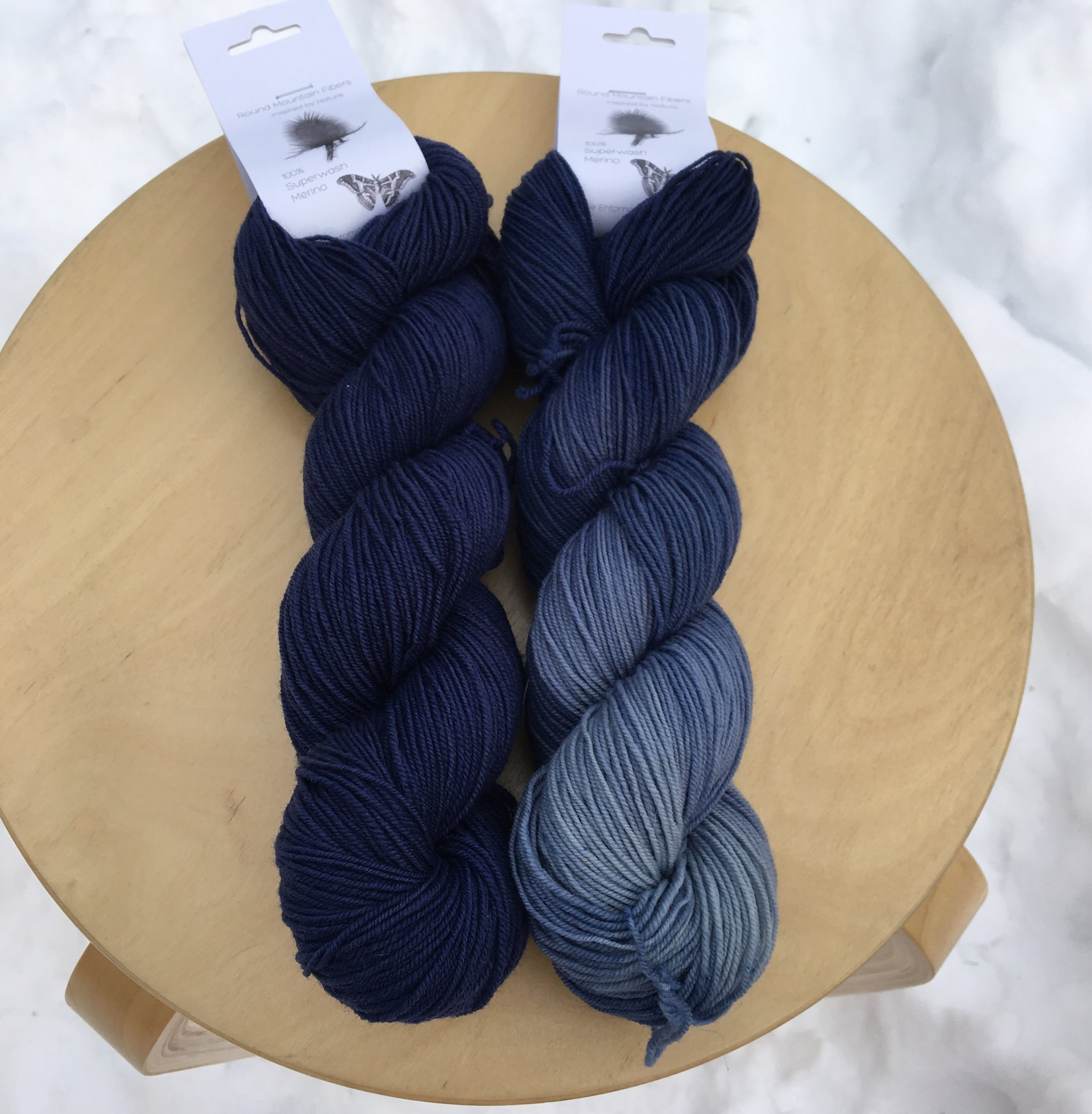 Dogbane Blue and Dogbane Blue Pooling Semisolid.