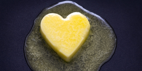Butter is   heart healthy?