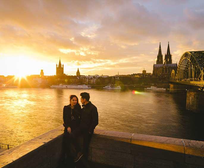 #ednamal - Hohenzollern Bridge Köln - trilastiko - commissions