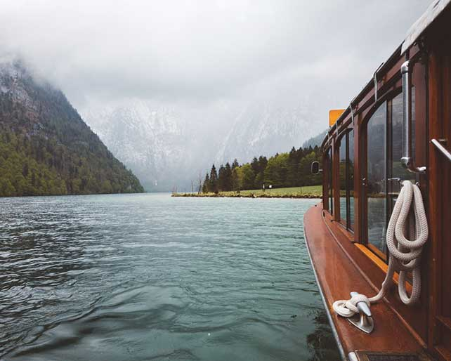 The Trip with The Ship Berchtesgaden Bayern Germany