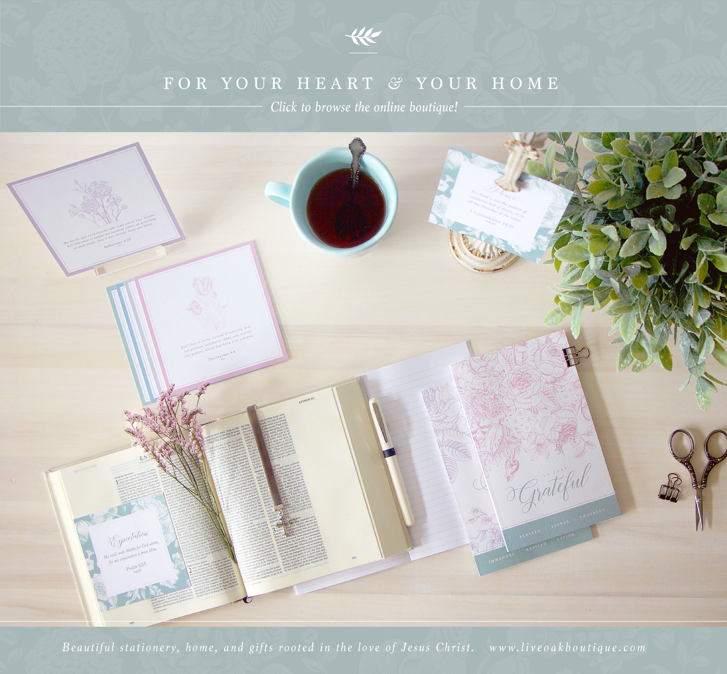 Create a prayer strategy for your relationships with Live Oak Boutique. www.liveoakboutique.com