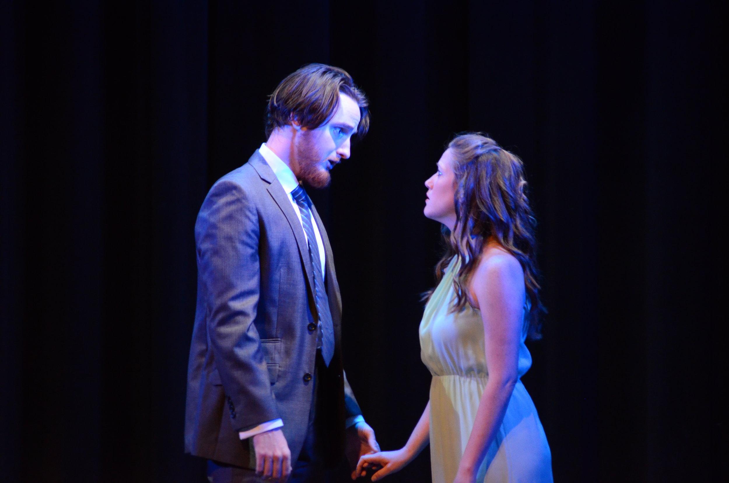 Hermia in Britten's  A MIdsummer Night's Dream  / Chicago Summer Opera (photo by Daniel Johanson)