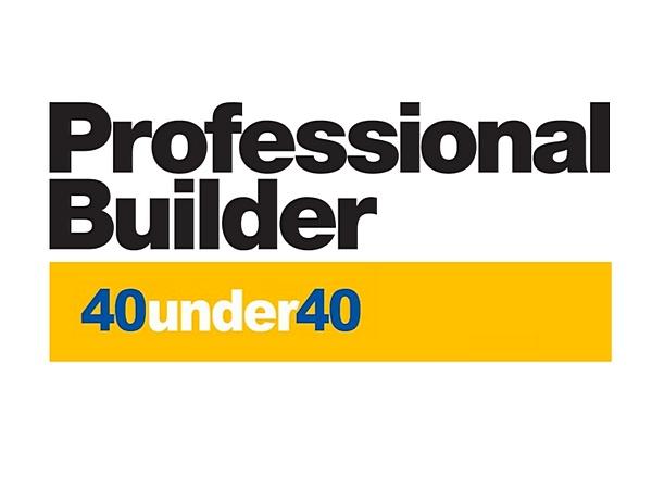 PROFESSIONAL BUILDER  40 Under 40 Award - Jordan Goldman