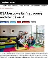 Boston.com     BSA Award
