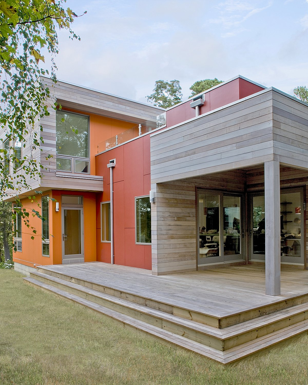 Modern green home