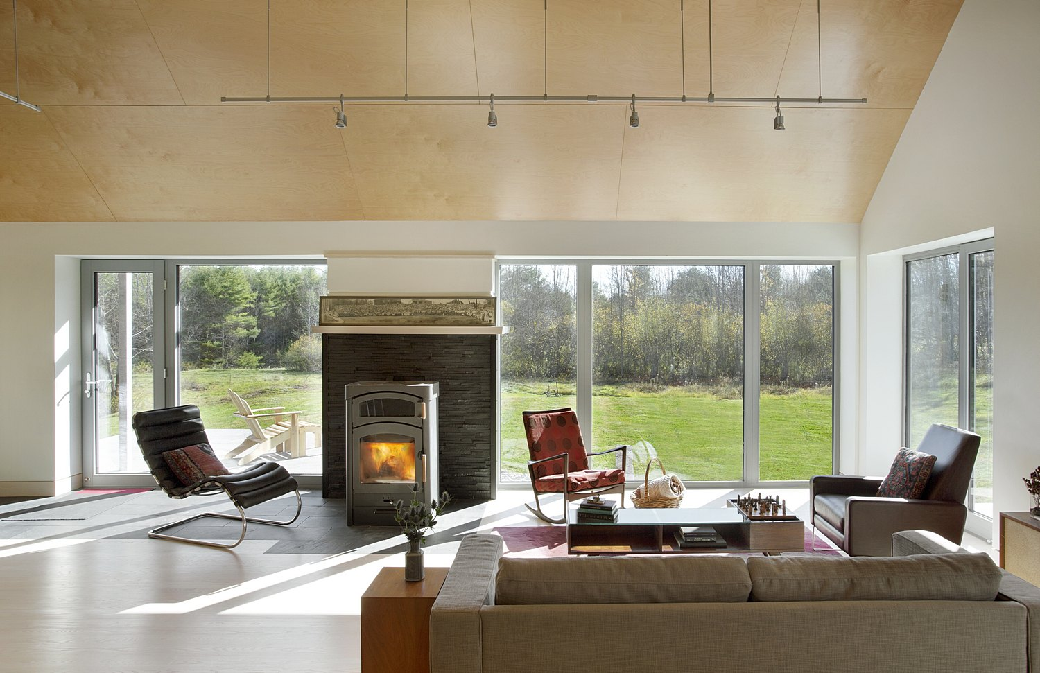 Modern Farmstead Living room