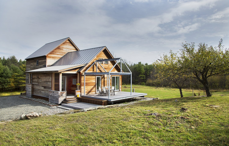 Modern Farmstead Home New England