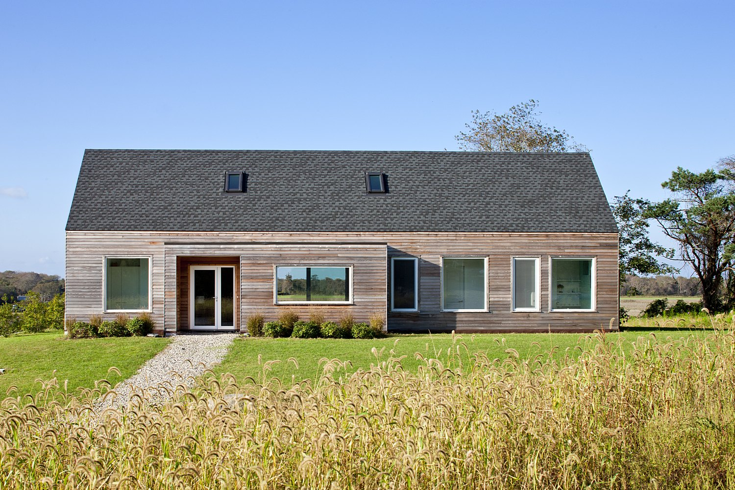 LEED gold certified home New England