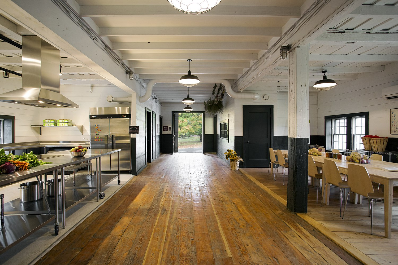 Multi-purpose space in net positive barn