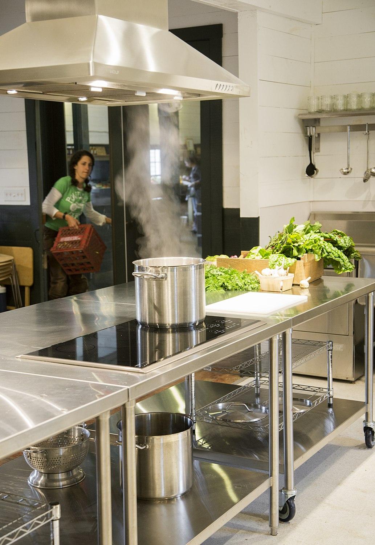 Commercial Kitchen Energy-efficient