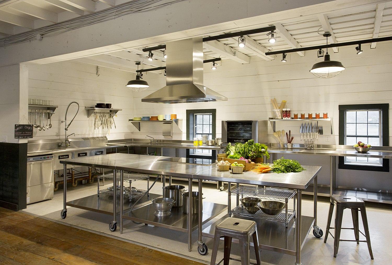 Net positive barn kitchen