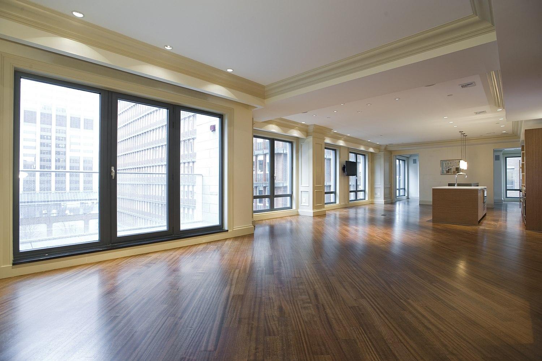 Modern apartment open concept