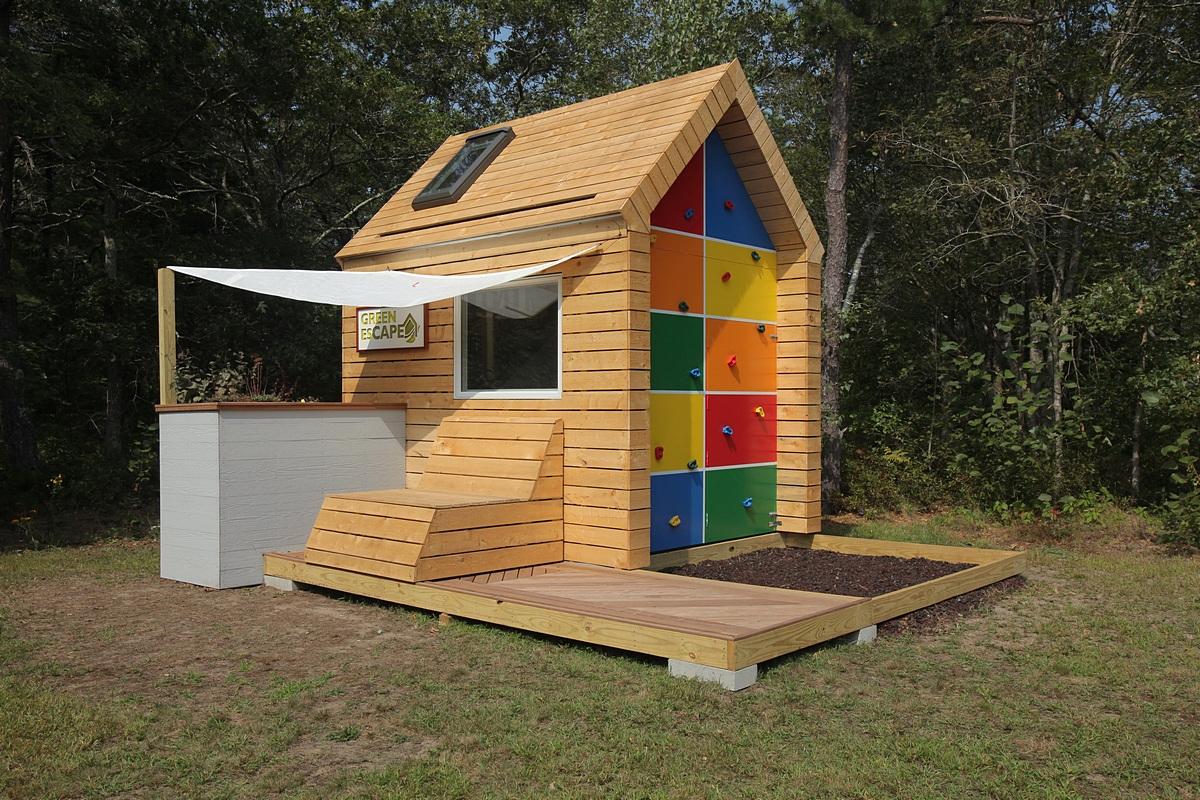 Green Playhouse Design