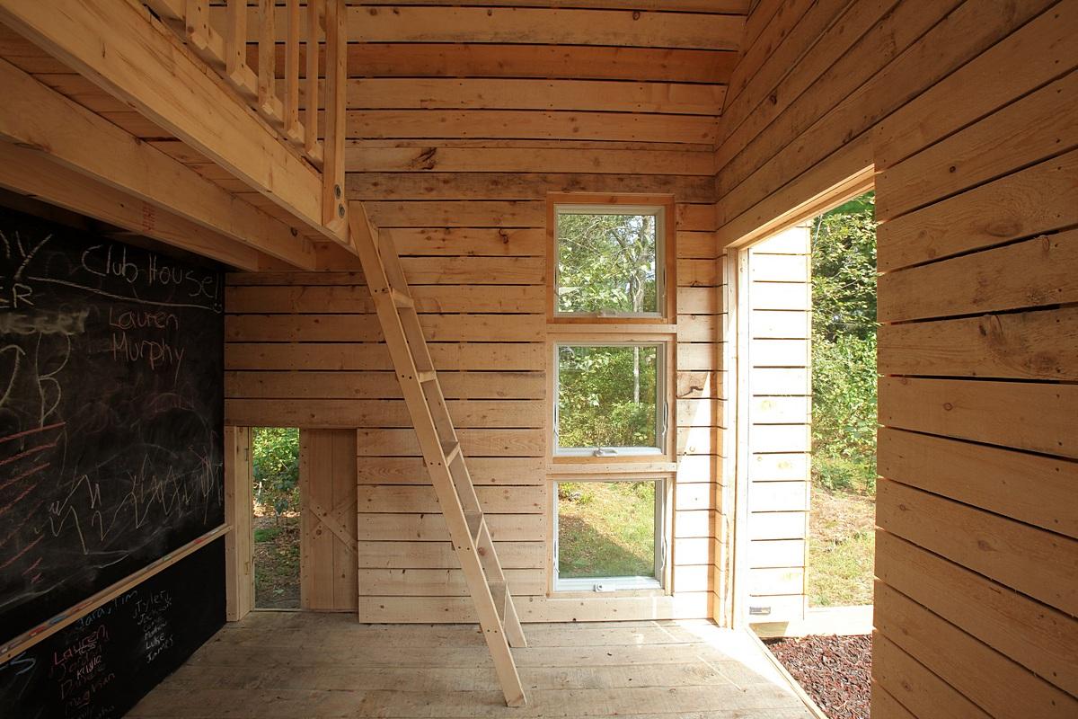 Eco-friendly Playhouse Interior