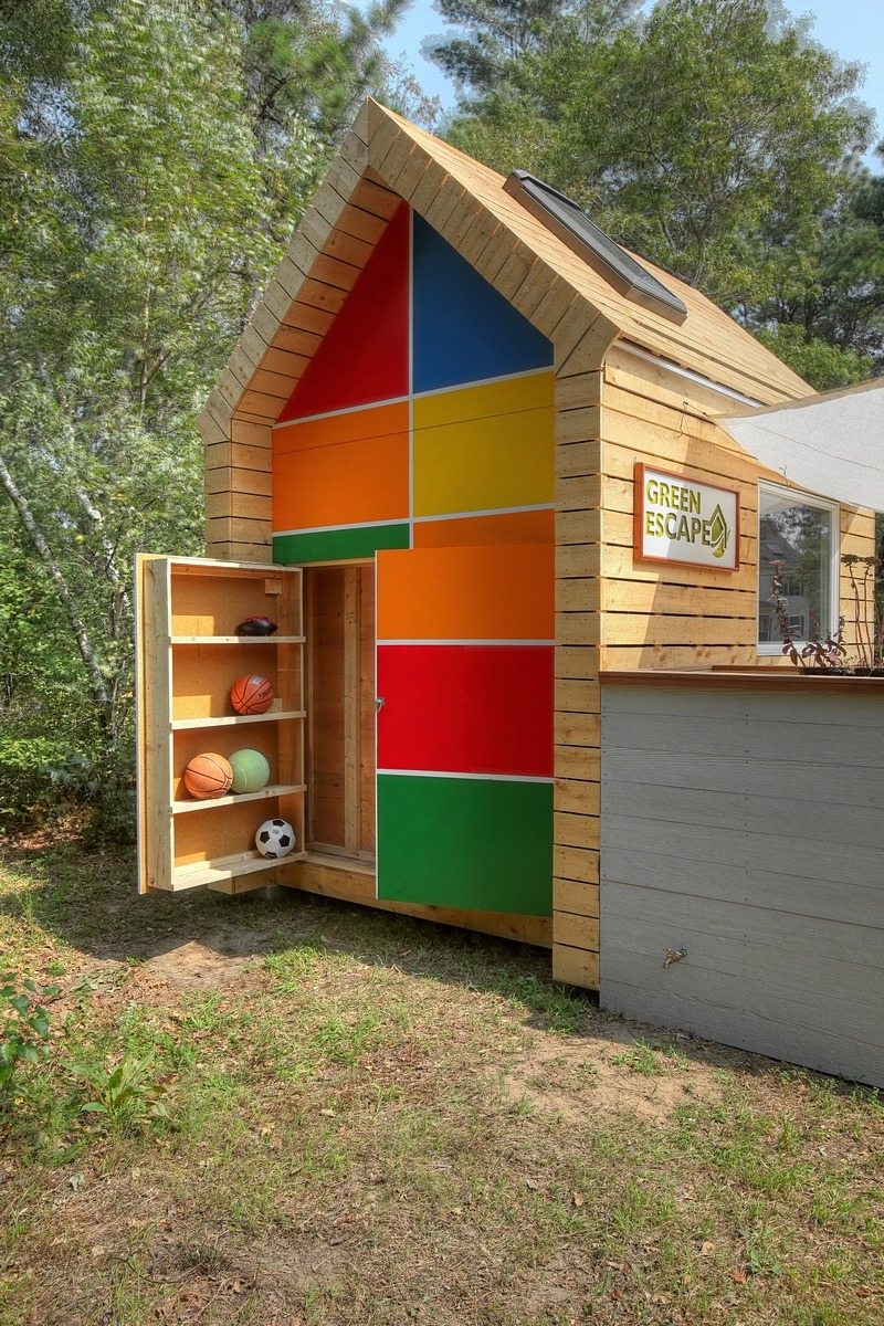 Eco-friendly Playhouse with Hidden Storage