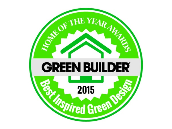 HOME OF THE YEAR AWARD  Best Inspired Green Design