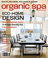Organic Spa   Cover Story
