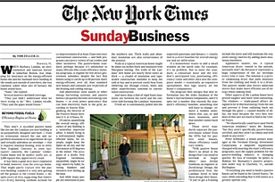 New York Times   Can We Build a Brighter Shade of Green?