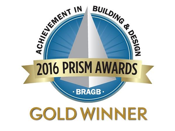 PRISM AWARDS 2016 - GOLD  Best NetZero/Passive House