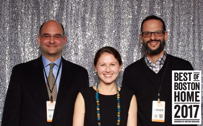 L to R: Adam Prince, Stephanie Horowitz AIA, and John Mucciarone of ZeroEnergy Design